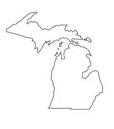 Outline Of Michigan And Great Lakes by Michigan Outline This What I M Thinking With Either Sons Of Michigan And Some Initials Or