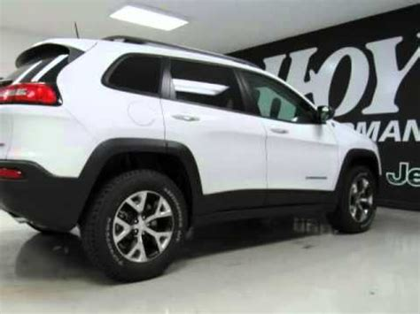 jeep trailhawk 2016 white 2016 jeep cherokee trailhawk bright white 3 2l v6 sherman