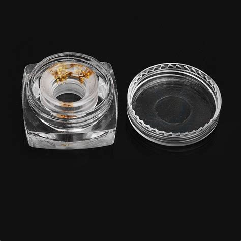 Acrylic 810 Driptip Wide Bore 810 11mm gold acrylic wide bore drip tip for goon kennedy battle