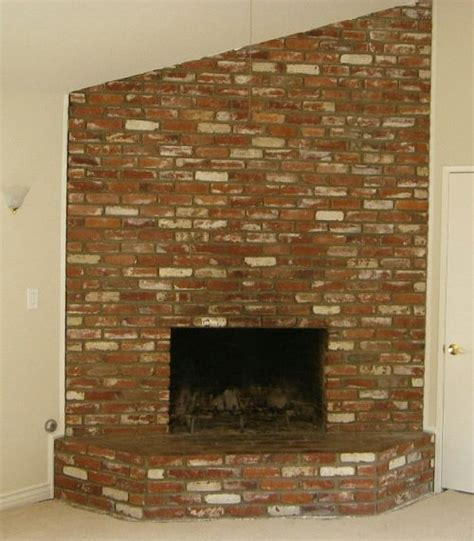 how to remodel brick fireplace do it yourself fireplace remodels