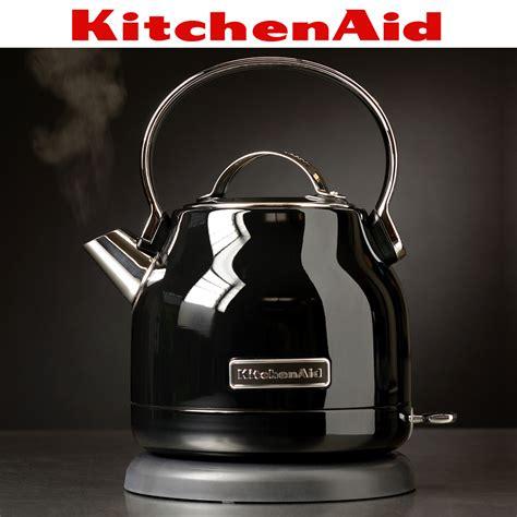 kitchenaid wasserkocher   onyx schwarz culinaris