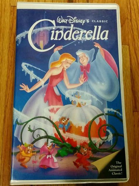 cinderella walt disney disneys 0717284735 walt disney classic cinderella black diamond 1988 vhs 410 ebay