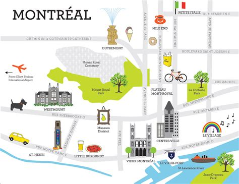 printable map montreal foresti 232 re weekend in the city