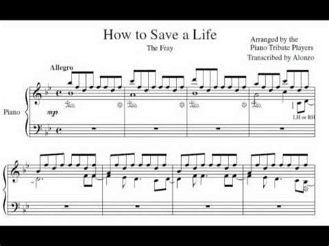 tutorial piano how to save a life how to save a life piano tutorial howsto co