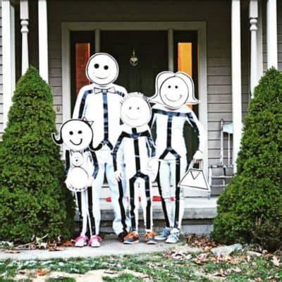 diy family halloween costumes skip   lou