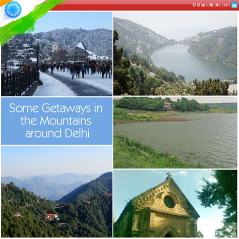Mountain Getaways Near Me Image Of Getaways In The Mountains Around Delhi My India