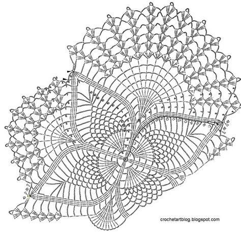 Crochet Pattern Sketch   crochet with pattern crochet and knit