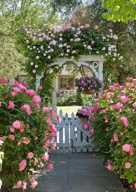 Arbor Garden Cottages Arbor In A Cottage Garden Gardening Ideas