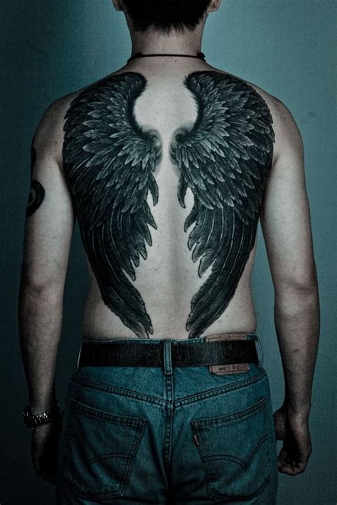 Back Wing Tattoos Designs 100 Astonish Wing Tattoo Designs To Draw