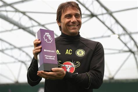 epl manager of the month antonio conte wins the english premier league s manager of