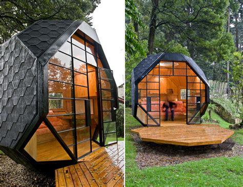 backyard pod manuel villa arquitecto polyhedron pod