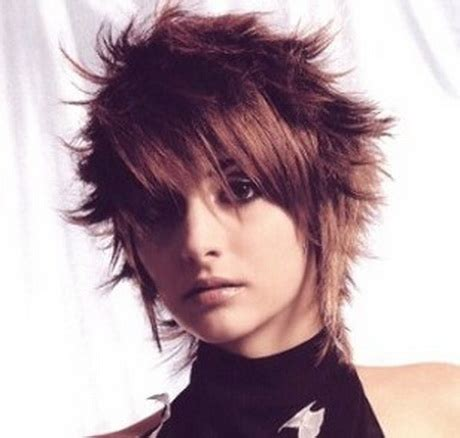 haircuts for women long hair that is spikey on top short spiky hairstyles for women