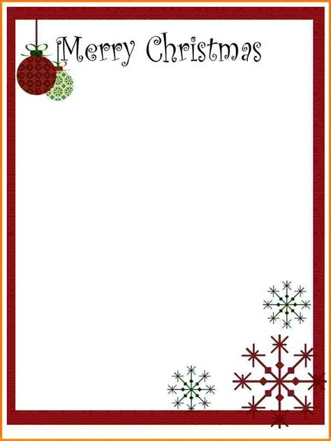 christmas letter templates printable ledger page