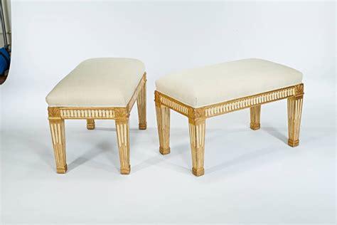 gilded bench maison jansen gilded benches at 1stdibs