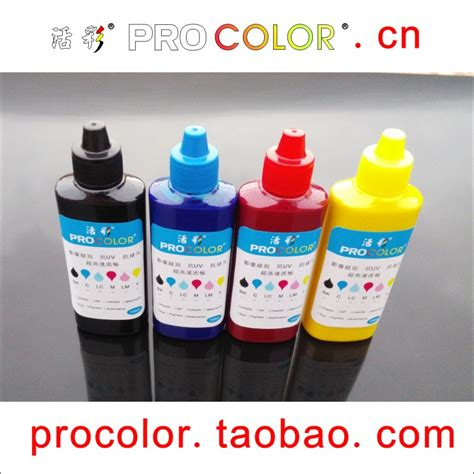 1 Set Tinta Dye Ink Korea Compatible Refill Printer Hp 100ml Cair Cmyk epson 4550 beli murah epson 4550 lots from china epson