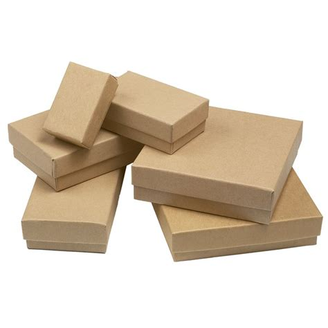 Paper Boxes - kraft recycled paper gift box assortment