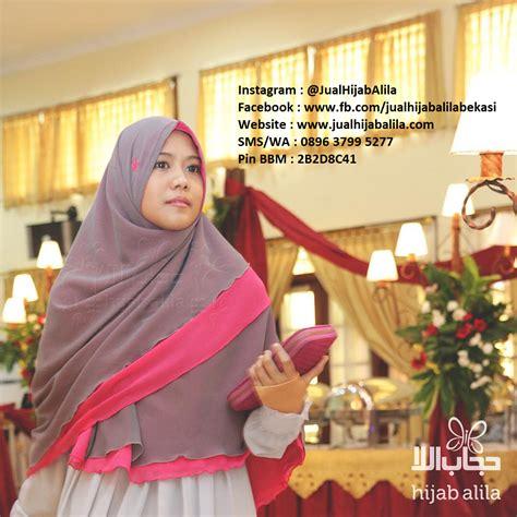 Syar I Alila Khimar Perdana Birumuda Pink alila produk top tips