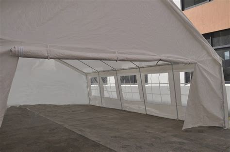 Pop Up Cer Awning by New White 20x26 Heavy Duty Carport Tent Canopy Car