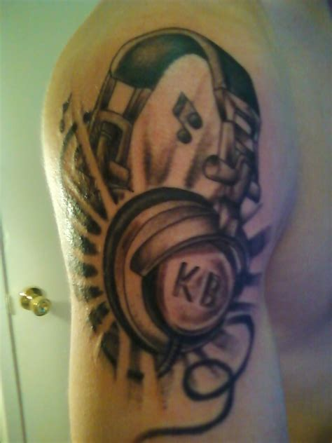 dj tattoo the gallery for gt headphone designs