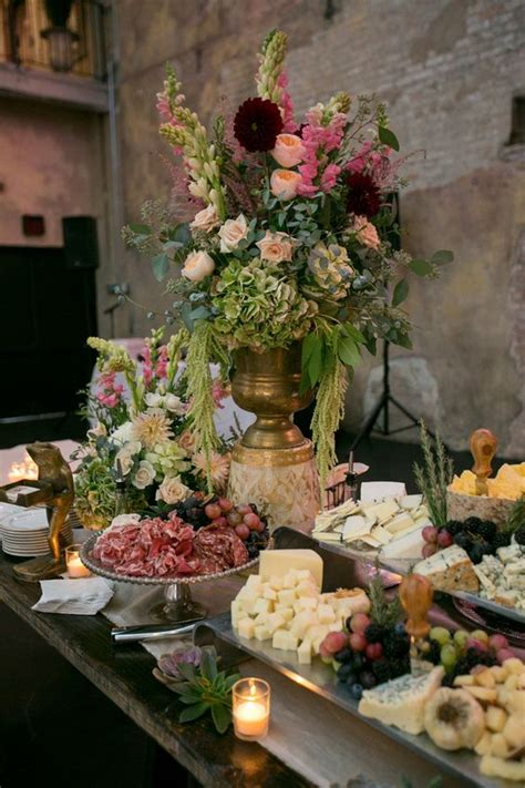 food tables at wedding reception 1000 ideas about wedding food tables on