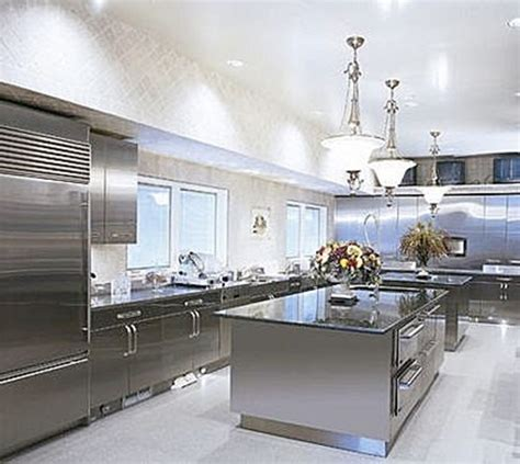 stainless steel kitchen design stainless steel in luxury kitchens design interior design