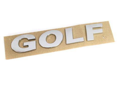 Schriftzug Aufkleber Audi by Golf Schriftzug Aufkleber Vw Golf Ahw Shop Vw Audi