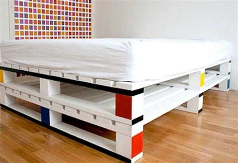 diy pallet beds catchy and distinct style pallet bed diy wooden pallet furniture