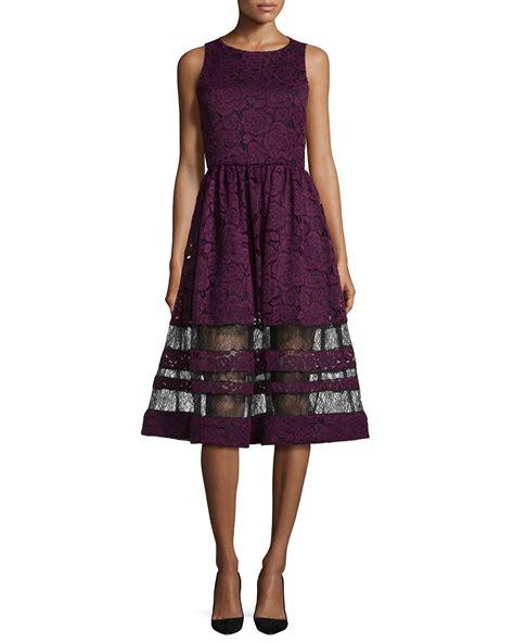 Dress Cewek Delia Black odelia sleeveless lace midi dress in black