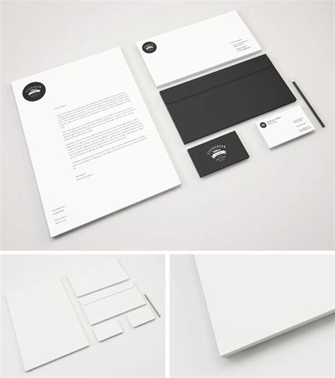 business card and letterhead mockup 60 free branding identity stationery psd mockups