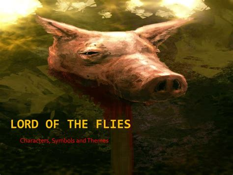 lord of the flies theme responsibility ppt lord of the flies powerpoint presentation id 2008574