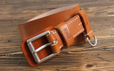 Custom Handmade Leather Belts - soxisix belt vz 31 sk cognac soxisix highest quality