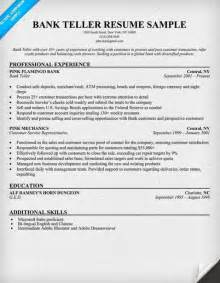 Bank Teller Resume Sample Entry Level Entry Level Bank Teller Resume Latest Resume Format