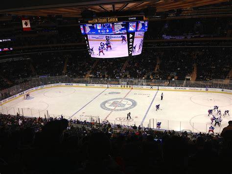 square garden list of new york rangers seasons