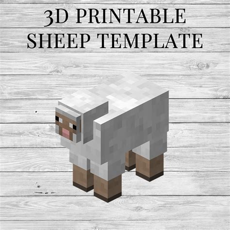 Minecraft Sheep Papercraft - minecraft sheep template www imgkid the image kid