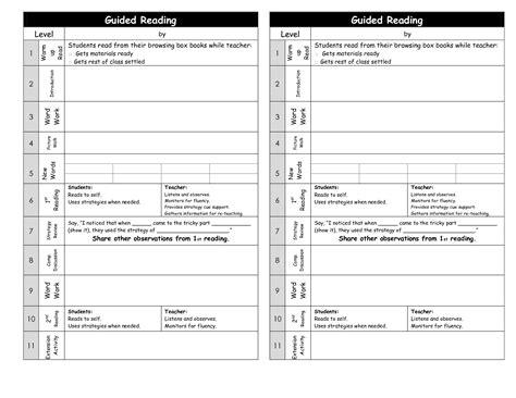 shared reading lesson plan template best photos of reading lesson plan template shared