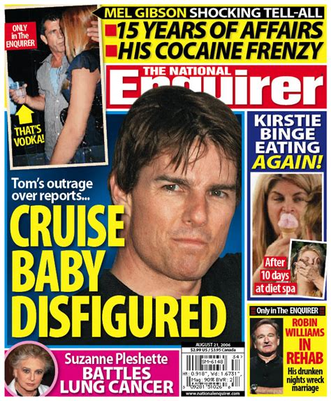 This Weeks National Enquirer Attempts by Tabloid This Week In The National Enquirer Robin