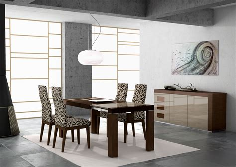 Modern Dining Rooms Sets by Round Modern Dining Tables Best Dining Table Ideas