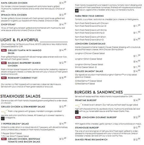 longhorn steak house menu longhorn steak house menu 28 images longhorns menu