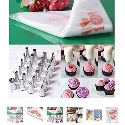 How To Make A Piping Bag With Baking Paper - aliexpress buy 100 pcs baking decorating bag for
