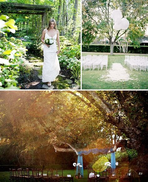 How To Throw A Backyard by How To Throw A Backyard Wedding Decor Green Wedding