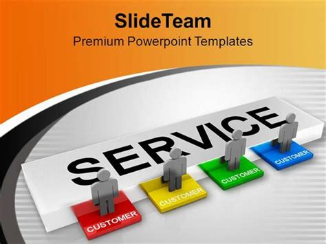 customer service powerpoint templates customer service powerpoint presentation template
