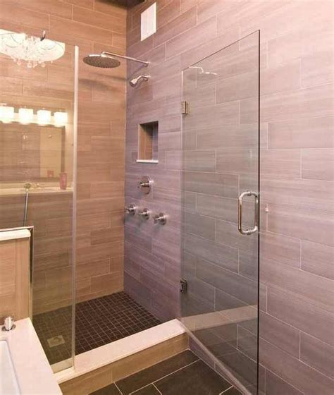 Bathroom Shower Stall Tile Designs | 25 wonderful large glass bathroom tiles