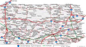 Map Of Pennsylvania Cities And Towns by Map Of Pennsylvania Cities Pennsylvania Road Map