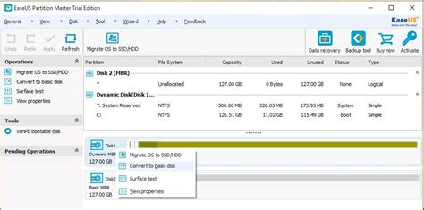 install windows 10 dynamic disk technig convert dynamic disk to basic disk in windows 10