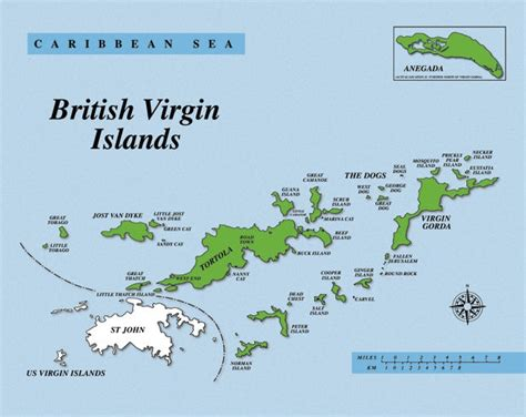 bvi map bvi marine guide bvi map