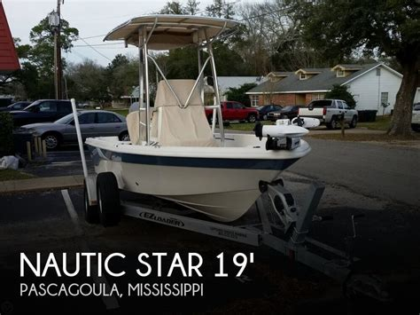 used boats for sale in south mississippi for sale used 2013 nautic star 1910 bay in pascagoula