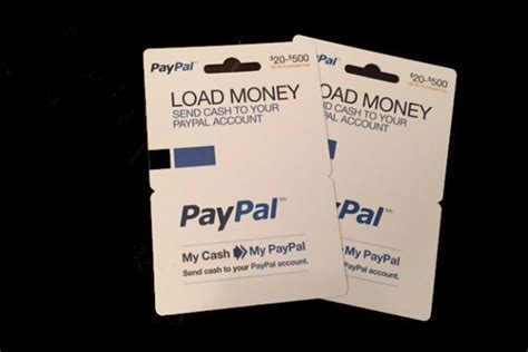 Can I Get A Paypal Gift Card - paypal gift card load money infocard co