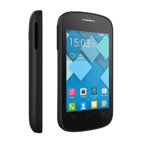 unlocked android phone alcatel onetouch c1 4015t 4g android smart phone gsm unlocked fair condition used cell