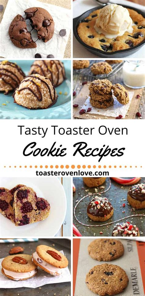 10 cookie recipes for your toaster oven