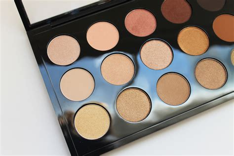 Eyeshadow Mac Pallete Mac Eyeshadow X 15 Warm Neutral Palette The